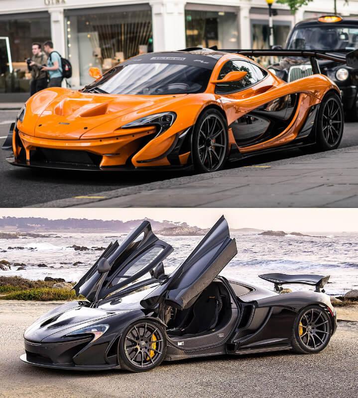 McLaren P1 Самые красивые машины