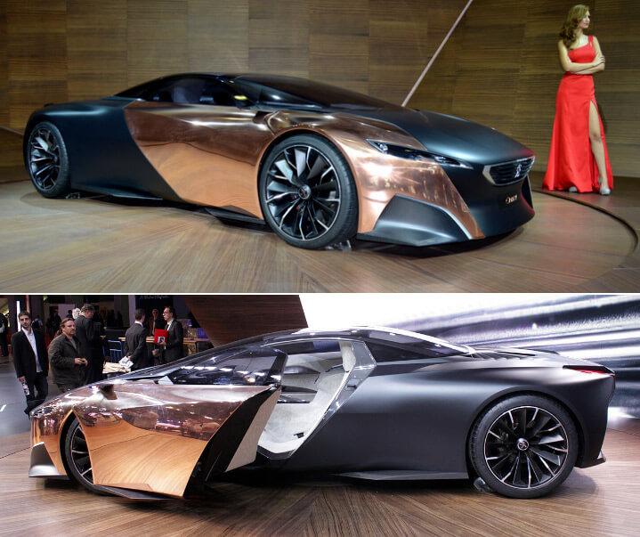 Peugeot Onyx Самые красивые машины