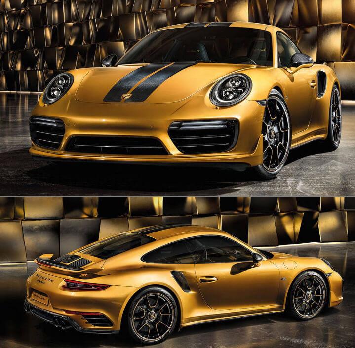 Porsche 911 Turbo S Exclusive Series 2018 Самые красивые машины