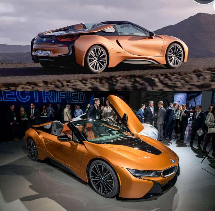 2019 BMW i8 Roadster Самые красивые машины