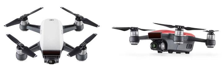 Квадрокоптер с камерой DJI Spark лучшие квадракоптеры