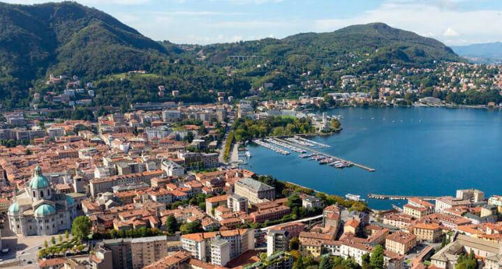Como / Комо, самые красивые города Италии