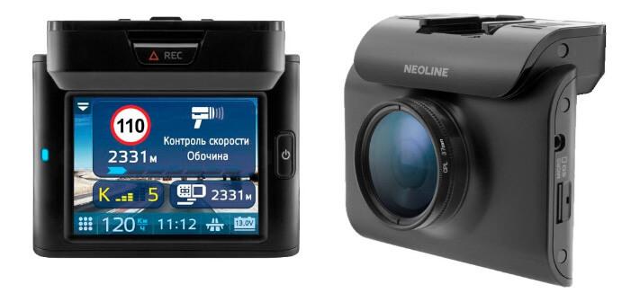 Neoline X-COP R700 Лучшие видеорегистраторы 2018