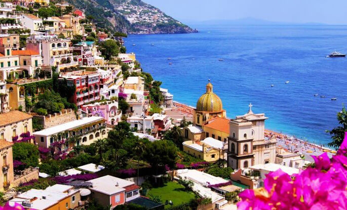 Positano / Позитано, самые красивые города Италии