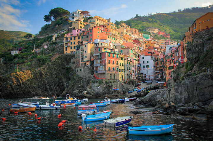 Riomaggiore / Риомаджоре, самые красивые города Италии
