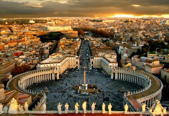 Roma / Рим, самые красивые города Италии