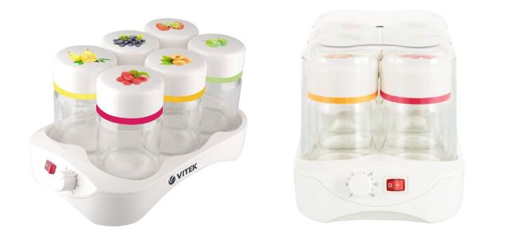 VITEK VT-2600/2601, лучшая йогуртница
