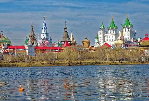 Кремль в Измайлово, Лучшие районы Москвы