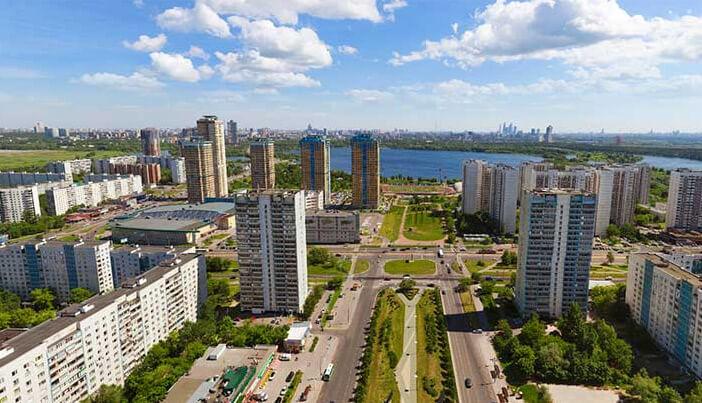 Строгино, Лучшие районы Москвы