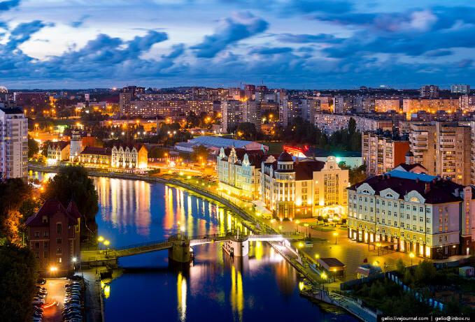 Калининград, Лучшие города России
