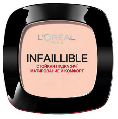 L'Oreal Paris Infallible, лучшая пудра