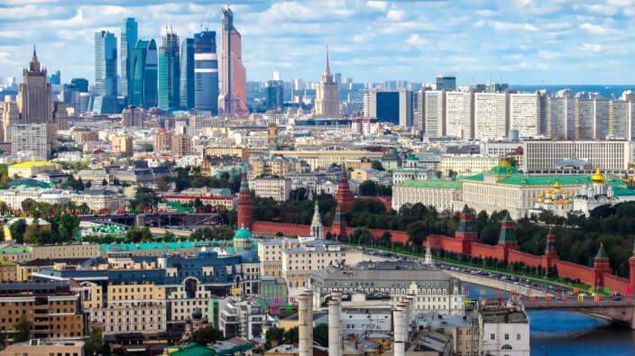 Москва, Лучшие города России