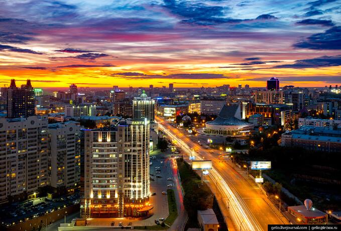 Новосибирск, Лучшие города России