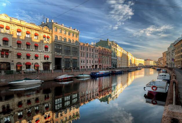 Санкт - Петербург, Лучшие города России