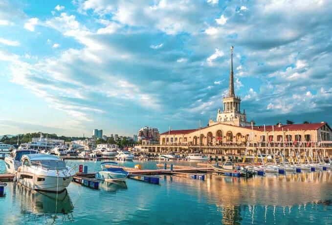Сочи, Лучшие города России