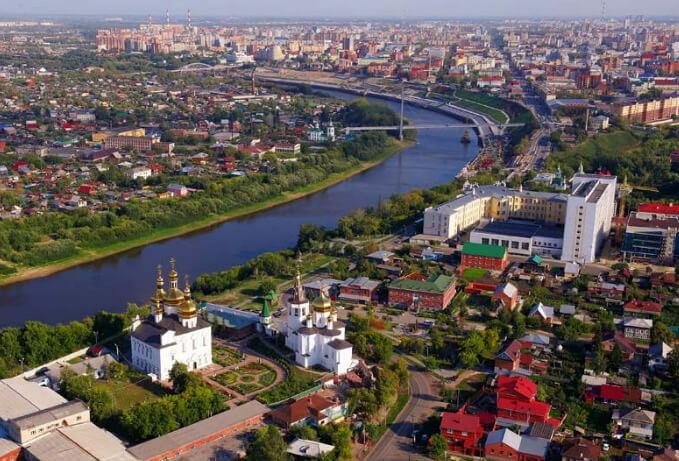 Тюмень, Лучшие города России