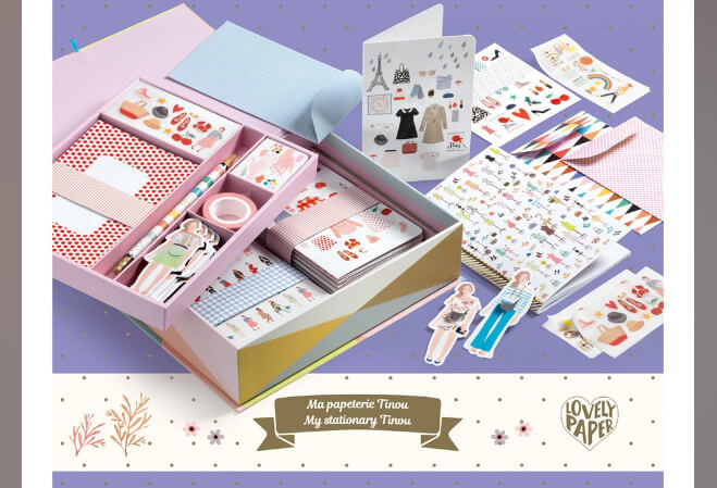Djeco «Тину» – набор для творчества, .  Подарки на Новый год для девочек