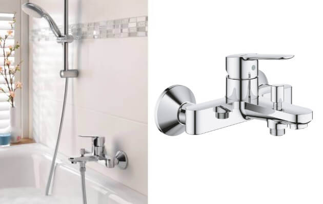 GROHE BauEdge23605000, Лучшие смесители для ванной комнаты.