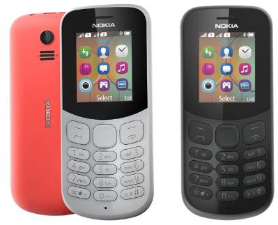 Nokia 130 Dual sim (2017), Кнопочные телефоны 2018