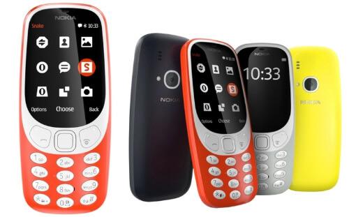 Nokia 3310 Dual Sim (2017), Кнопочные телефоны 2018