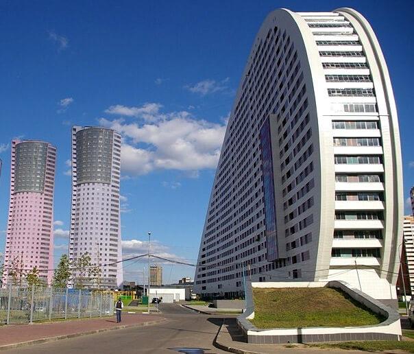 Дом «Парус» в Москве, Россия