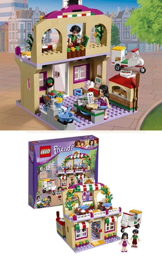 41311 Пиццерия Lego friends,  Подарки на Новый год для девочек
