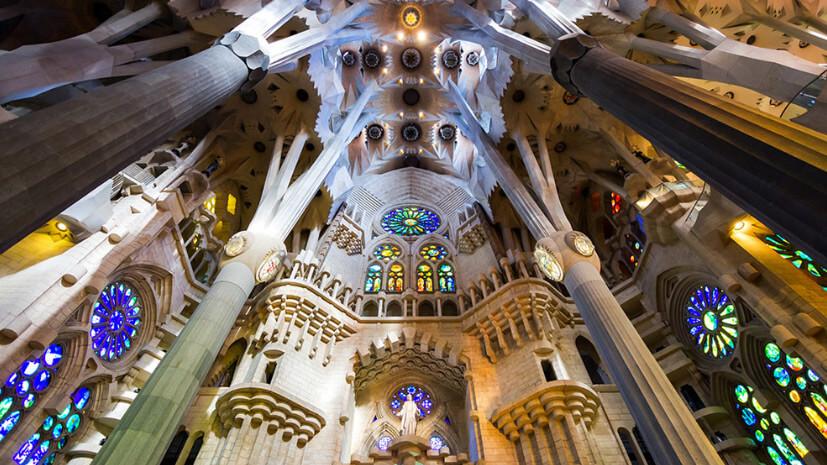 Саграда Фамилия, Барселона, Испания