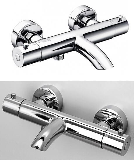 Термостатический смеситель WasserKRAFT Berkel 4811 Thermo, Лучшие смесители для ванной комнаты.