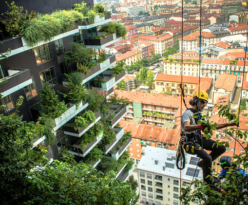 Боско Вертикале в Милане, Италия