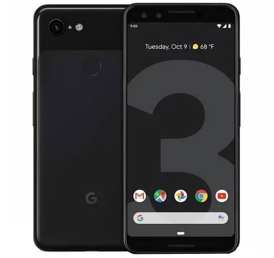Google Pixel 3 64GB, лучшие смартфоны 2019