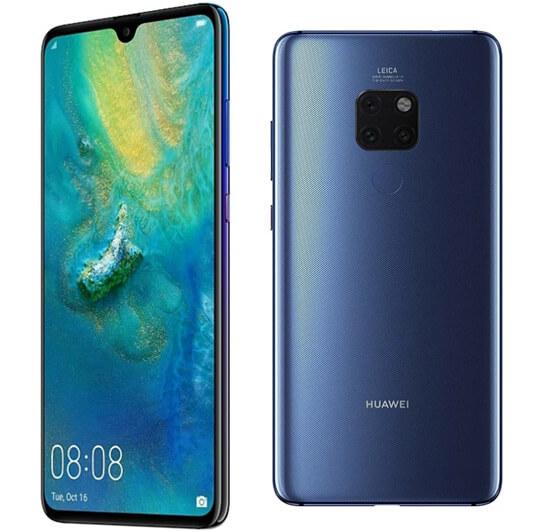 HUAWEI MATE 20 6/128 GB, самые мощные смартфоны 2019