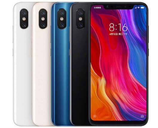 Xiaomi Mi8 Pro 8/128 GB, лучшие смартфоны 2019