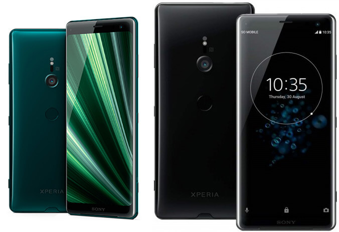 Sony Xperia XZ3 6/64GB, лучшие смартфоны 2019