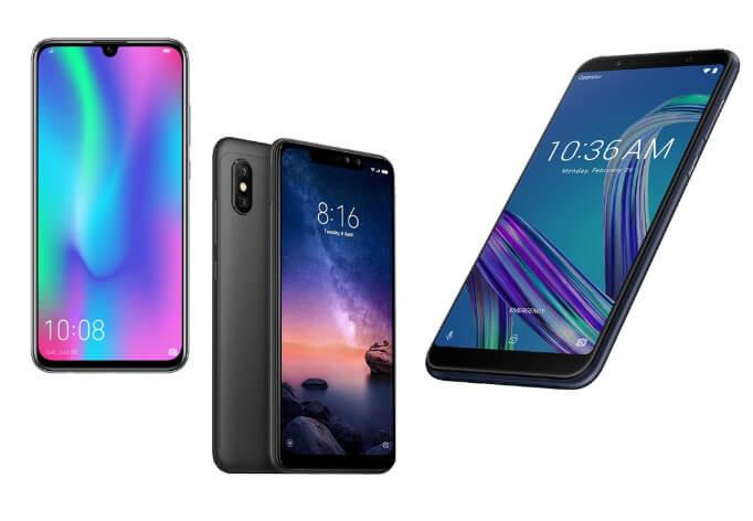 лучшие смартфоны 2019 до 15000