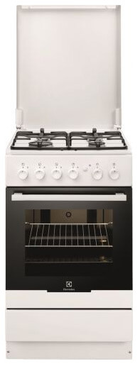 Electrolux EKG951106W, лучшие газовые плиты. Рейтинг 2019
