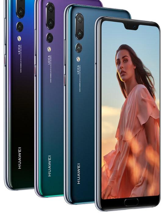 HUAWEI P20 Pro, лучшие камерофоны 2019
