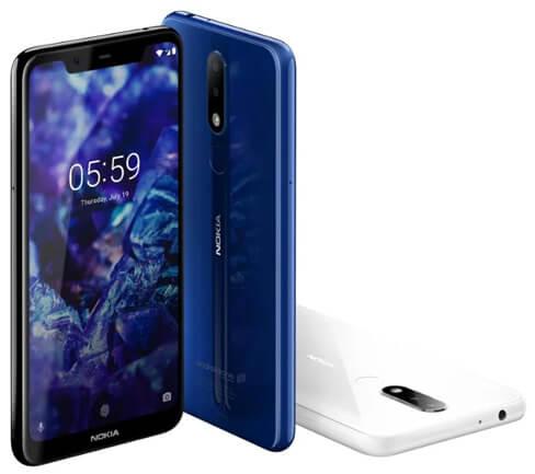 Nokia 5.1 Plus, Лучшие смартфоны 2019 до 15000 рублей.