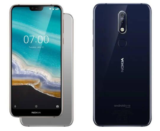 Nokia 7.1 Лучшие смартфоны до 20000 рублей