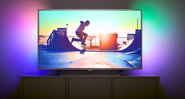 Philips 55PUS6412, Лучшие телевизоры 2019