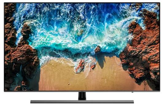 Samsung UE55NU8070U, Лучшие телевизоры 2019