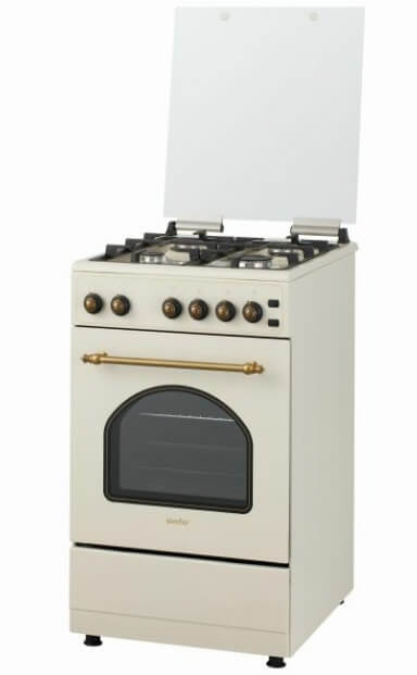 Simfer F56GO42017, лучшие газовые плиты. Рейтинг 2019