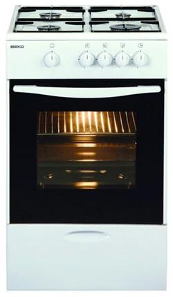 BEKO CSG 52000 W, лучшие газовые плиты. Рейтинг 2019