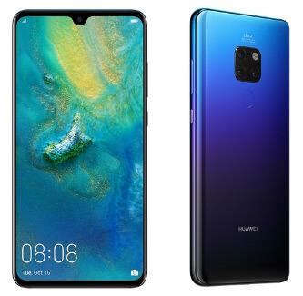 HUAWEI Mate 20 6/128GB, лучшие китайские смартфоны 2019