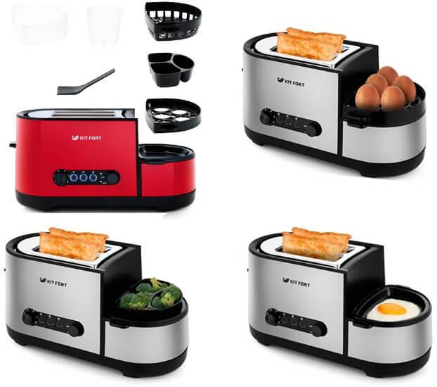 Kitfort KT-2012, лучшие тостеры 2019