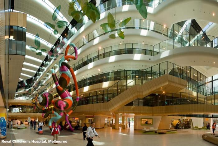 Детская больница в Мельбурне, Рейтинг медицины