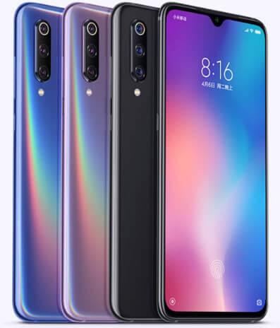 Xiaomi Mi9, лучшие китайские смартфоны 2019