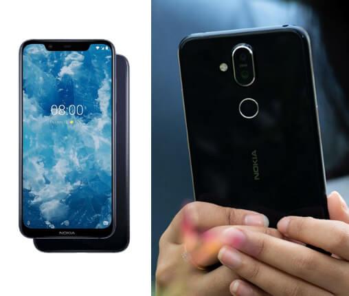 Nokia 8.1 64GB , лучшие китайские смартфоны 2019