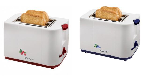 Scarlett SC-TM11017, лучшие тостеры 2019