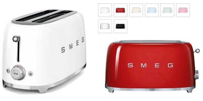 SMEG TSF02, лучшие тостеры 2019