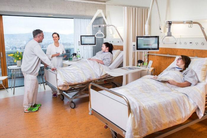 Швейцария, Triemli municipal hospital, Рейтинг медицины